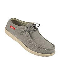 Mens Waverly Boat Shoe Grey