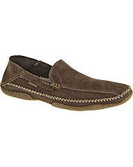 Hush Puppies Luthur Slip On Bk