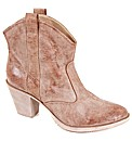 Strawberry Distressed Cowboy Boot