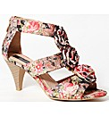Strawberry Floral Print Sandal