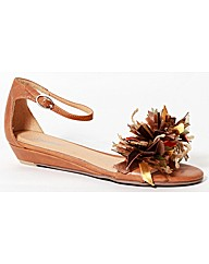 Strawberry Mule Trim Sandal