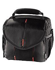 Hama Canberra Camera Bag, 110, Black/Red