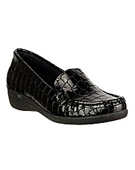 Riva Antuia Croco Leather Shoe