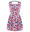 Koko Cut Out Back Floral Print Dress