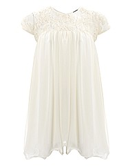 Koko Flower Lace Top Detail Dress