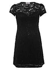 Praslin Sweetheart Spot Lace Dress