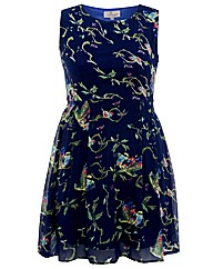 Praslin Bird Print Dress