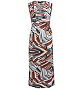 Koko Stripe Print Maxi Dress