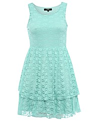 Koko Sleeveless Lace Prom Dress