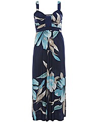 Praslin Waterfall Maxi Dress