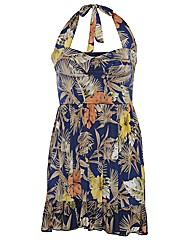 Praslin Floral Halterneck dress