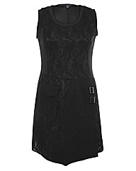 Samya Lace Punk Style Mini Dress