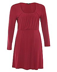 Samya Gathered Bustline A Line Dress