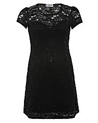 Praslin Sequin Lace Dress