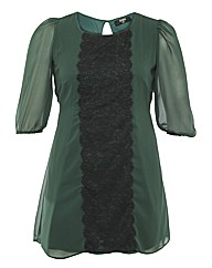 Koko Lace Panel Tunic
