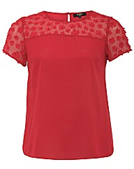 Koko Flower Trim Top