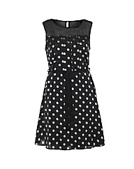 Koko Polka Dot Dress