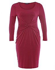 E1 Knot Front Detail Dress