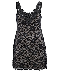 Praslin Embellished Lace Dress