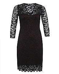 Praslin Scallop Lace Dress