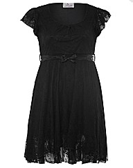 Praslin Lace Frill Dress