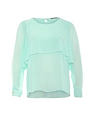Koko Double Layer Chiffon Blouse