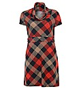 Praslin Check Print Dress