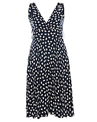 Praslin Bow Print Swing Dress