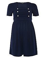 Koko Military Style Dress
