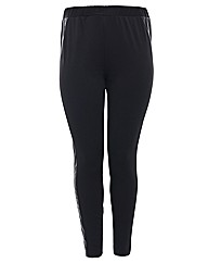 Threads PU Contour Panel Legging