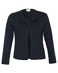 Threads Fold Front Textured Blazer