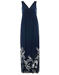 Threads Printed 2in1 Maxi Dress