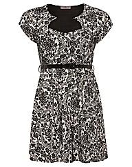 Praslin Oriental Print Dress