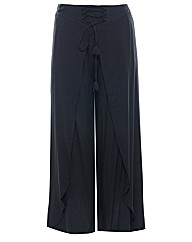 Samya Overlayered Tie Up Trousers