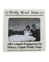 Really Great News Longest Engagement