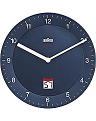 Braun Radio Controlled QA Wall Clock
