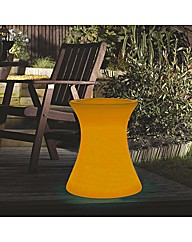 Xantian Orange Side Table