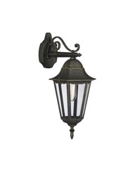 Pack of 2 Zagreb Outdoor Down Lanterns