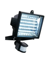 LED Outdoor Floodlight with PIR Sensor