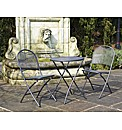 Cafe Latte Table And 2 Chairs Set 3Pc