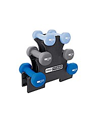 Pro Fitness 9kg Dumbbell Tree