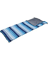 Blue Stripe 300GSM Single Sleeping Bag