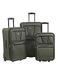 Enrico Benetti Dallas Trolley Case Set