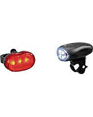 Challenge Front and Rear Bike Lights