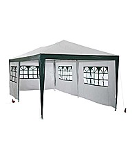 Garden Gazebo with Side Panels