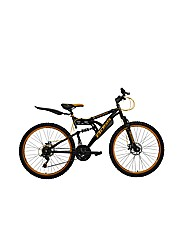 "Boss Blackgold Mens 26""  Steel FS Bike"