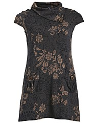 Samya Floral Tunic Dress Top