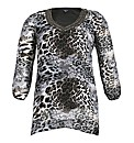 Samya Animal Print Top