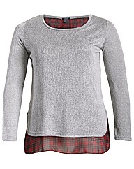 Samya Scotch Layer Long Sleeve Top