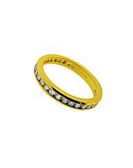 18ct YG 0.25ct Diamond Eternity Ring